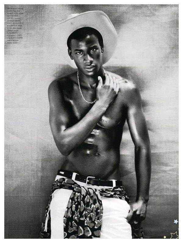David Agbodji by Boo George for Love Magazine
