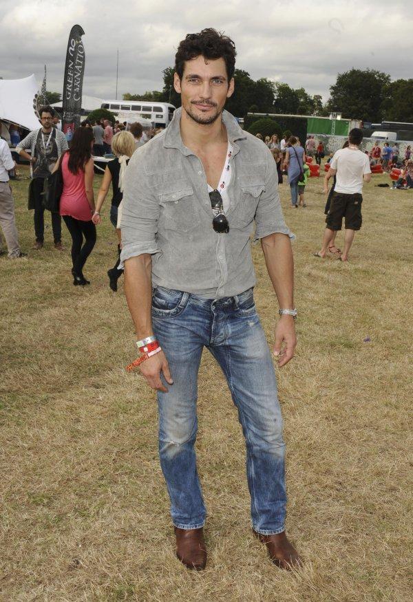 Style Watch | David Gandy in Diesel at V Festival