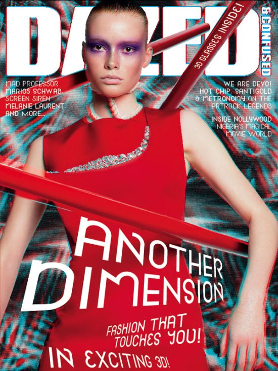 Cover - Dazed & Confused August 2009