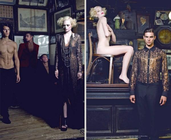 Russell Giardina, Matt Egan & Joost Hulst by Renie Saliba for Depesha Magazine