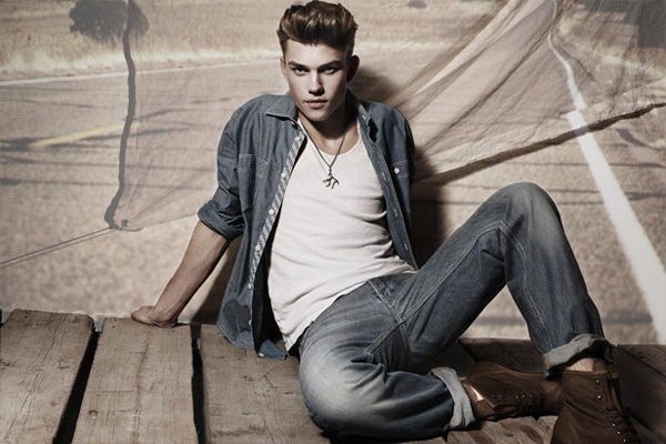 André Bentzer by Anja Boxhammer | Yalook Used Denim Campaign