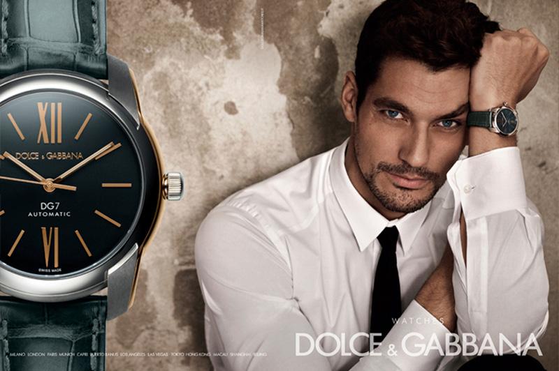 David Gandy, Adam Senn & Enrique Palacios Find Their Time for Dolce & Gabbana's Watches Campaign