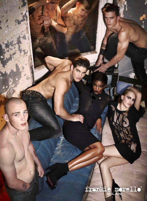 Frankie Morello Fall 2010 Campaign | AJ Abualrub, Ryan Bertroche, Darryl Sharp, Tom Lander & Michael Hudson by Mariano Vivanco