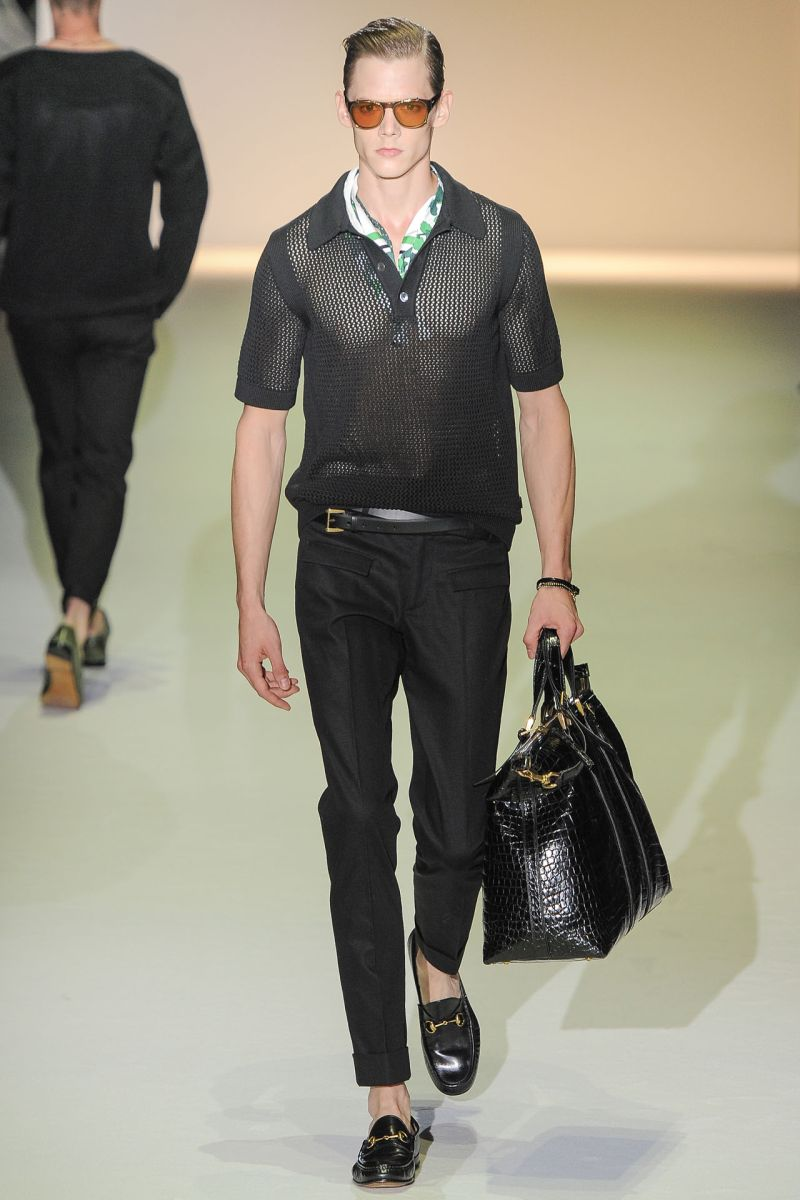 Gucci Spring/Summer 2013, of The Milan Men's Fashion Week