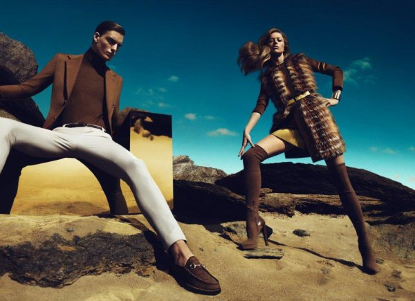 Gucci Fall 2010 Campaign Preview   Nikola Jovanovic by Mert & Marcus