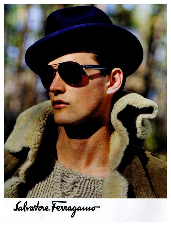 Guy Robinson by Bruce Weber for Salvatore Ferragamo Fall 2010 Campaign