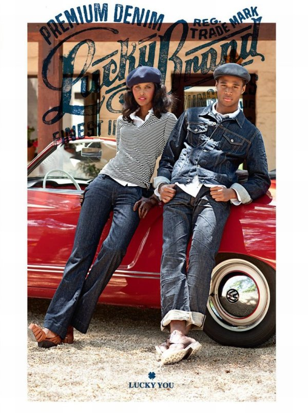 Henry Watkins by Jose Picayo for Lucky Brand Jeans Fall 2010 Campaign