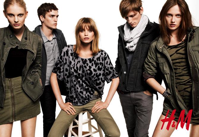 Bastiaan Ninaber & Josh Beech by Daniel Jackson for H&M Fall 2010 Campaign