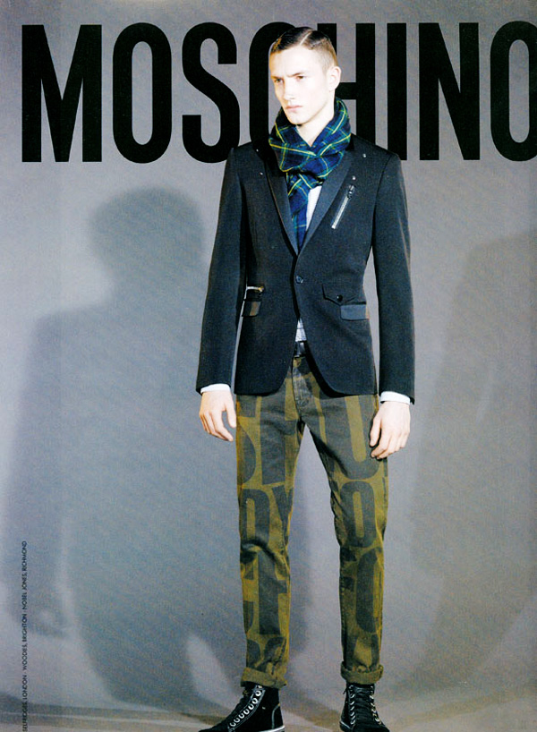 Jacob Coupe for Moschino Fall 2010 Campaign