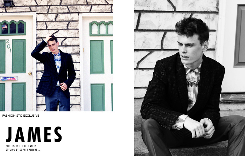 James Dunstan by Lee O'Connor for Fashionisto Exclusive