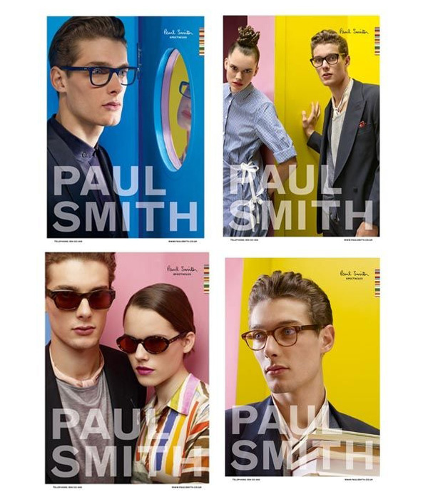 Paul Smith Spring 2010 Campaign Preview | James Hampson & John-Patrick Dine