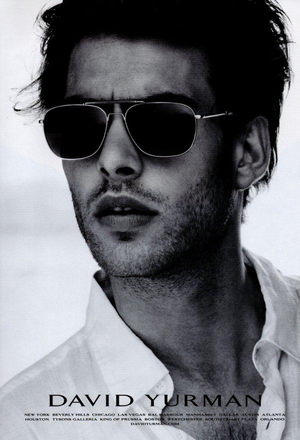 Jon Kortajarena by Peter Lindbergh for David Yurman Fall 2010 Eyewear Campaign