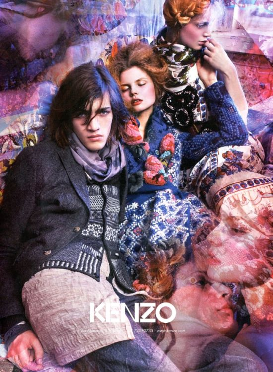 Fall 2009 Campaigns - Kenzo & Benetton