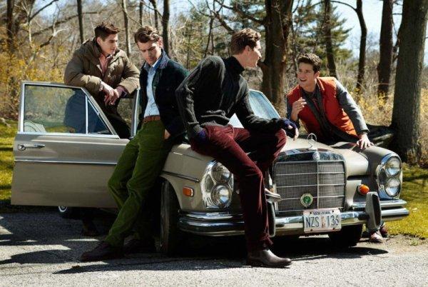 Arthur Sales, Blaine Cook, Brian Davenport, Sean Harju & Matthew Coatsworth for LINCS Fall 2010 Campaign
