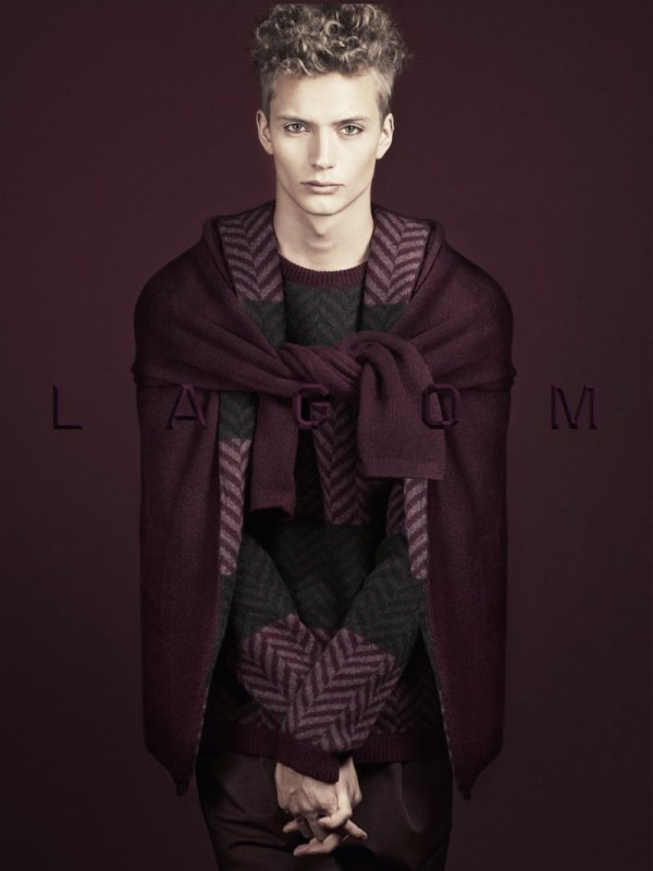 Linus Gustin by Andreas Öhlund for Lagom Fall 2010 Campaign