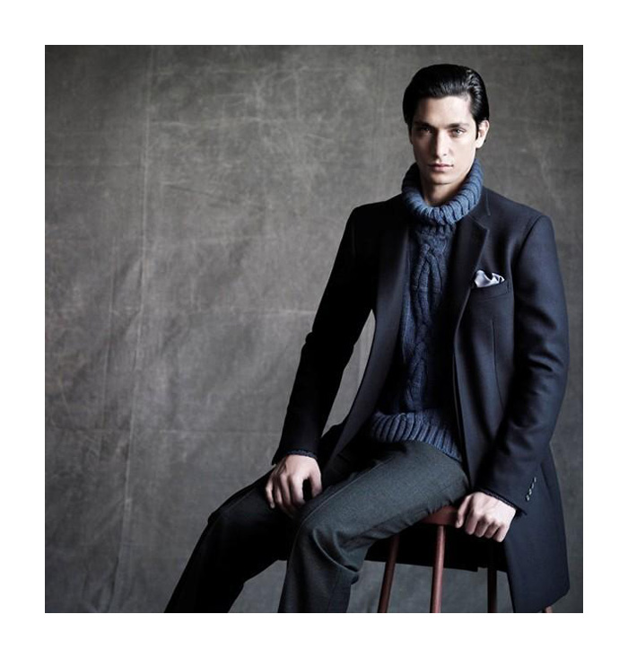 Lucho Jacob Reveals a New Look for Cerruti's Fall/Winter 2012 Campaign