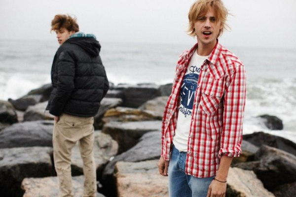 Boyd Holbrook & Lyle Lodwick by Neil Stewart   Levi's Red Tab Fall 2010 Campaign