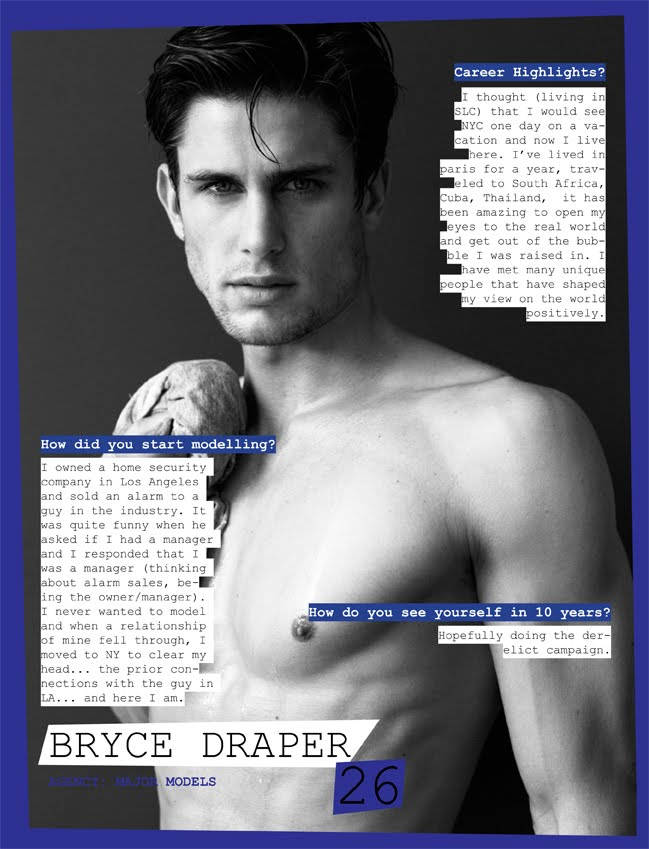 Geil Magazine   Model Features by Greg Vaughan