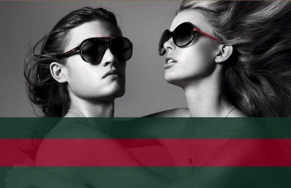 Marcel Castenmiller by Daniel Jackson for Spring 2010 Gucci Eyewear Campaign