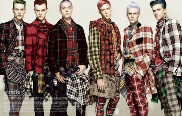The Modern Standard by Miguel Reveriego for Vogue Hommes Japan