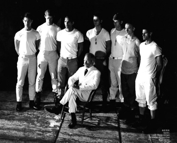 Men's Vogue China Spring 2010   The Soldiers' Mutiny by Blair Getz Mezibov
