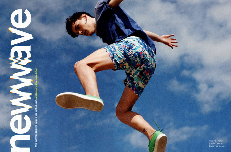 Matthew Hitt, Mateus Lages & Juan Heredia are 'New Wave' for Nylon Guys