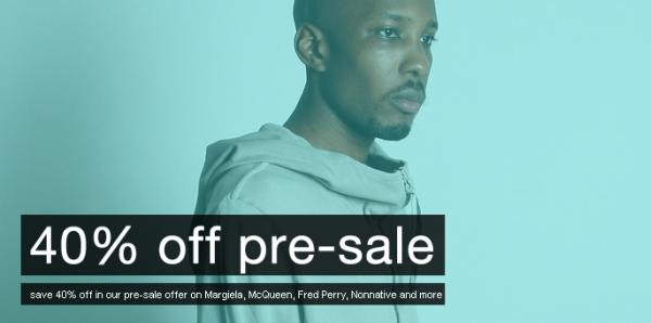 Oki-ni 40% off Pre-sale