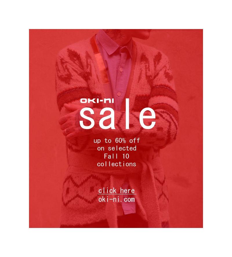 Oki-ni Sale, Up to 60% Off