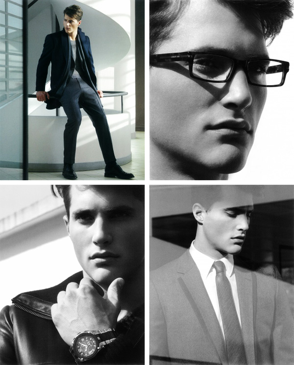 Ollie Edwards by Tom Watson for Cerruti 1881 Fall 2010 Campaign