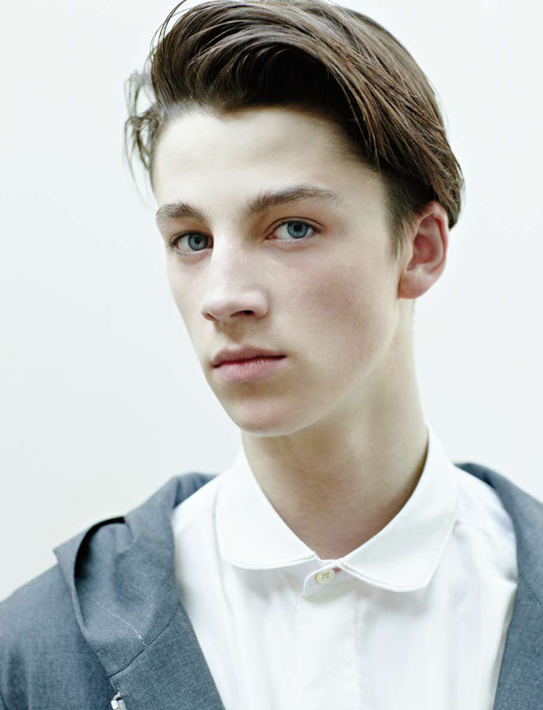 Behind the Scenes | Paul Smith's Spring 2010 Runway Boys by Christoph Musiol