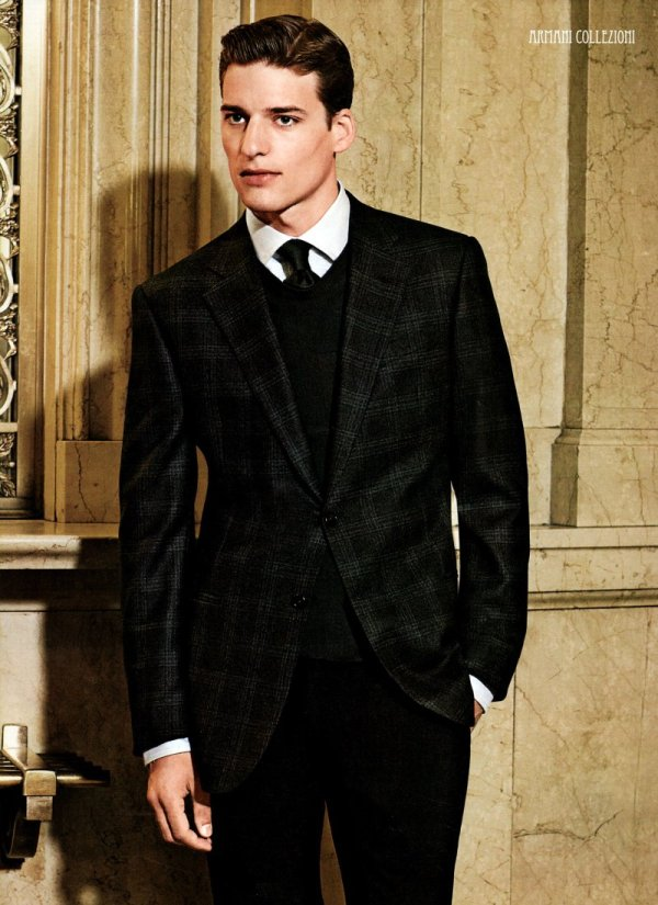 Niels Raabe & Fergal O'Connor by Guzman for Bloomingdale's Fall 2010 Advertorial