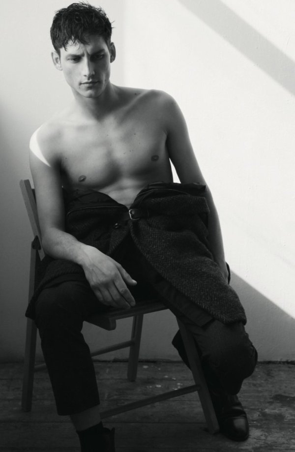 Roch Barbot by Carlotta Maniago in Louis Vuitton for Dazed & Confused