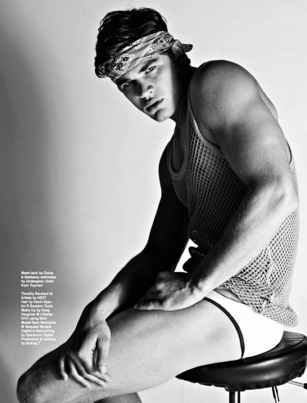 Ryan Bertroche by Matthias Vriens-McGrath for Attitude Magazine