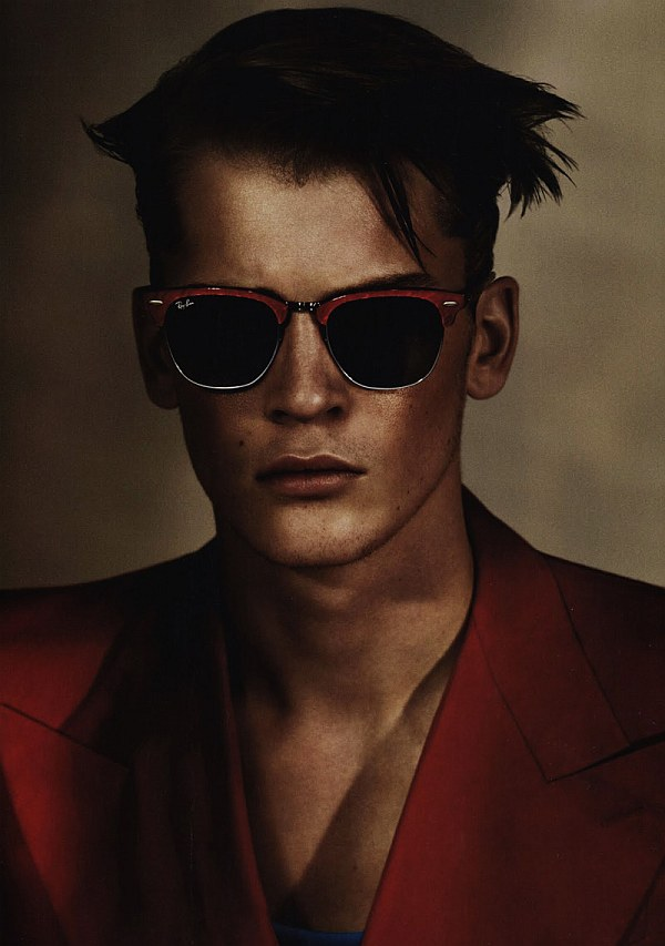 So 80s | William Eustace, Guy Robinson & Borys Starosz by Miguel Reveriego for Numéro Homme