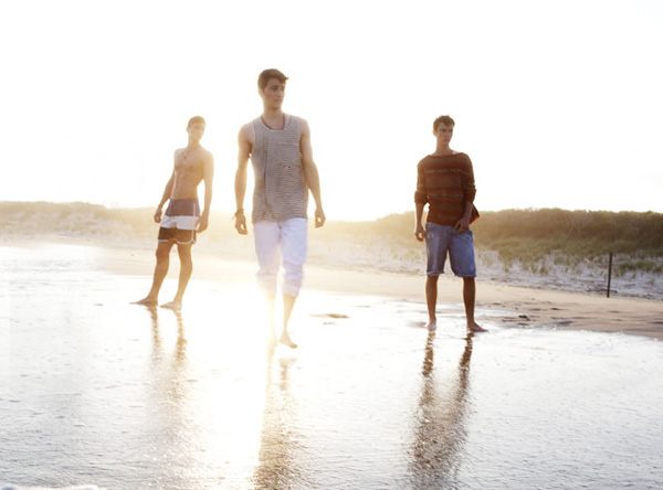 Rory Torrens, Helge Gjerstad, Ryan Schirra & Travis Bland by Matthew Sandager for Menswear