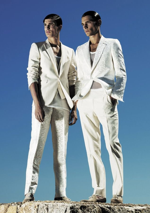 Thomas Hoefnagels & Texas Olsson by Marco Falcetta for Carlo Pignatelli Outside | Spring 2010 Campaign
