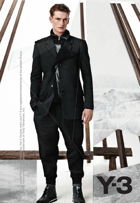 Y-3 Enlists Thomas Sottong for their Fall/Winter 2012 Campaign