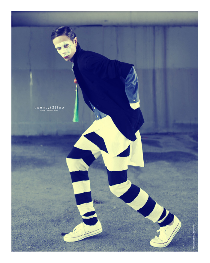 First Look - Mershad Gowhari & Alex Dobre Star in Twenty(2)Too's 'Wild' Spring/Summer 2013 Outing by Tibi Clenci