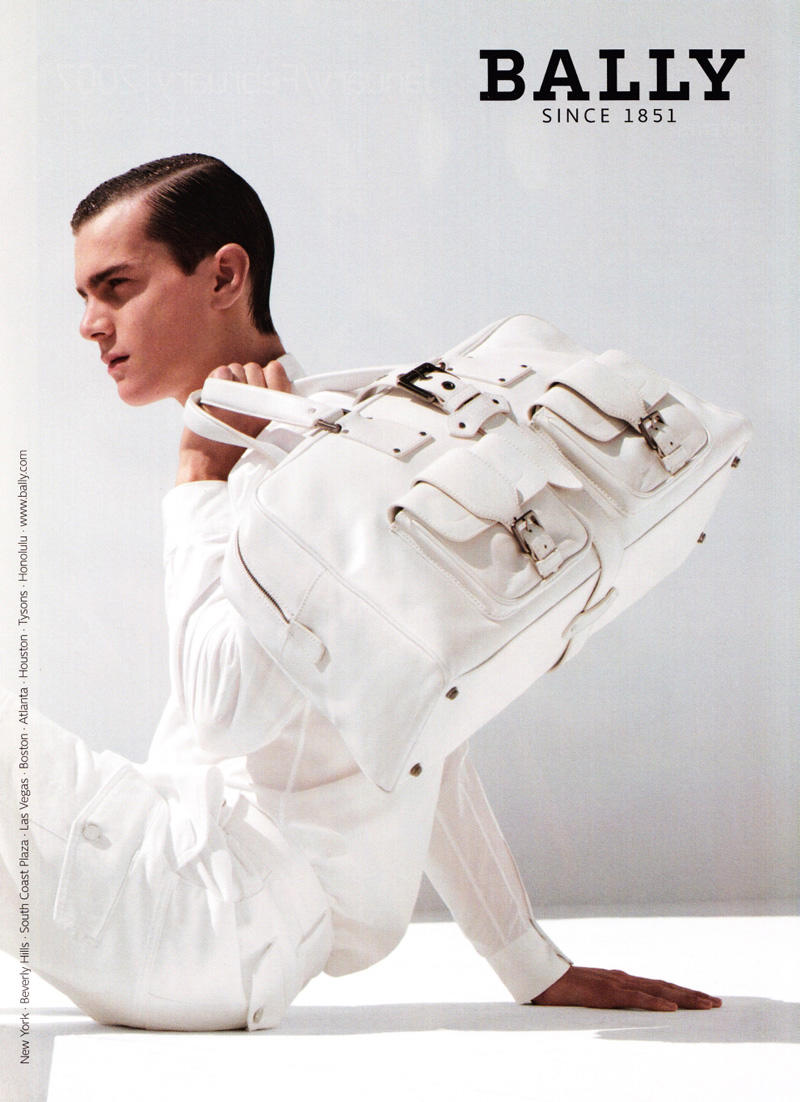 Vincent Lacrocq for Bally Spring 2007 Campaign