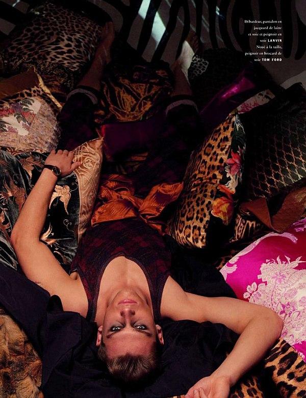Vogue Hommes International Spring 2010 | Vladimir Ivanov by Patrick Demarchelier