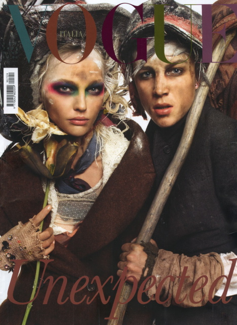 Vogue Italia Sept. 09   Sasha & Ash by Meisel