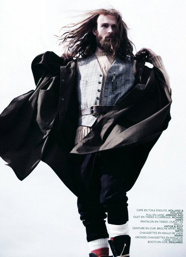 Will Lewis by David Goldman for Twist Magazine