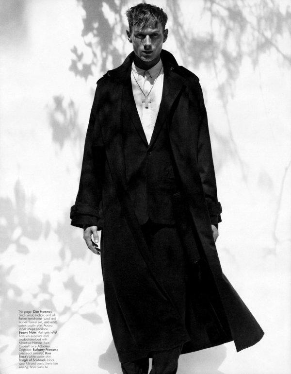 Aiden Andrews, Christian Plauche & Stas Svetlichnyy by Craig McDean for W Magazine