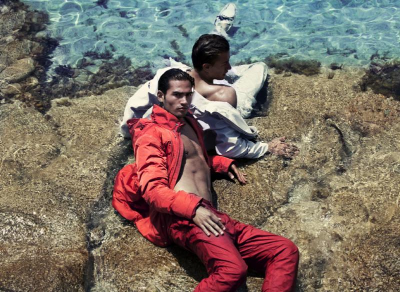 Laurin Krausz, Tjerk Veltman & John Zoeller Make a Splash for MFL Magazine