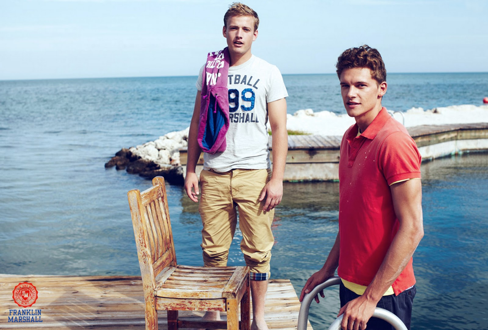 Blaine Cook & Dan Cameron for Franklin Marshall Spring 2011 Campaign