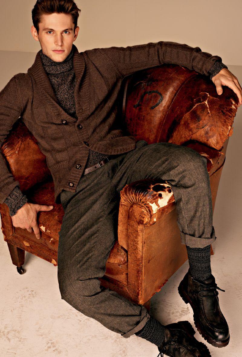 """Casual-Menswear-in-Dolce-Gabbana-Autumn-Winter-2012-2013-""""Moda""""-Lookbook-13"""