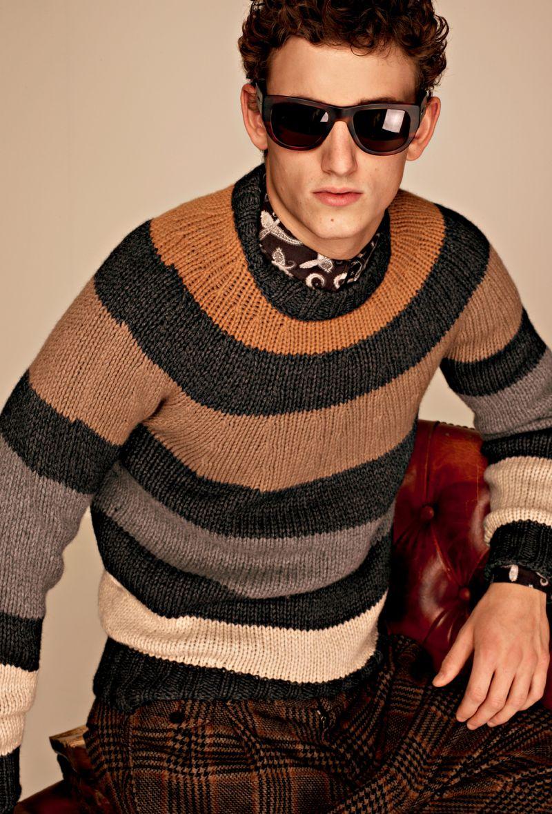 """Casual-Menswear-in-Dolce-Gabbana-Autumn-Winter-2012-2013-""""Moda""""-Lookbook-3"""