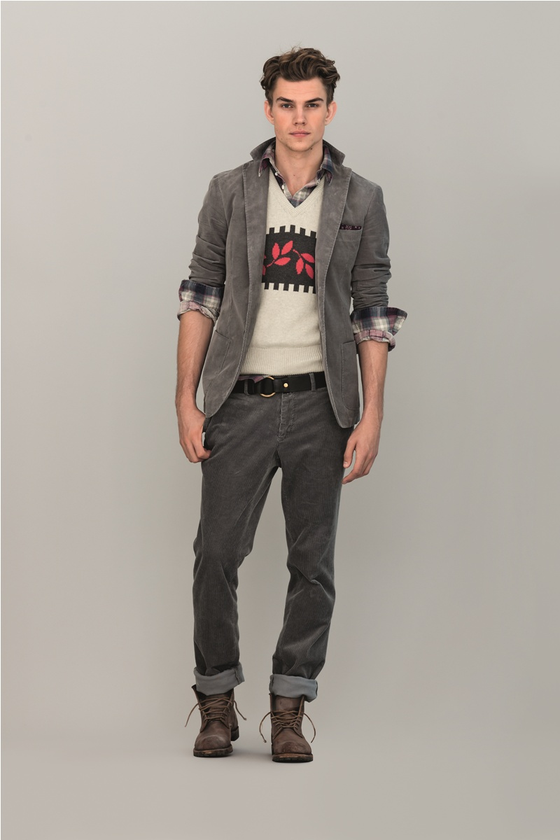 André Bentzer Steps into Gant by Michael Bastian's Pre-Fall 2012 Collection