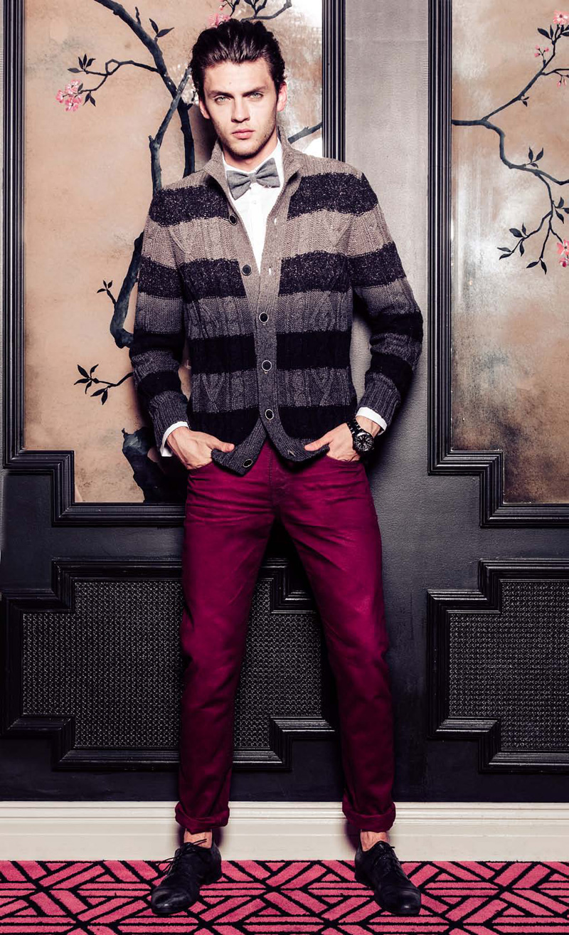 Silviu Tolu is Ready for the Holiday 2012 Season with Guess' Latest Lookbook