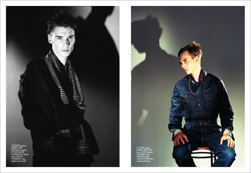 Angus Low & Bogdan Tudor are a Denim Daydream for REMIX Magazine